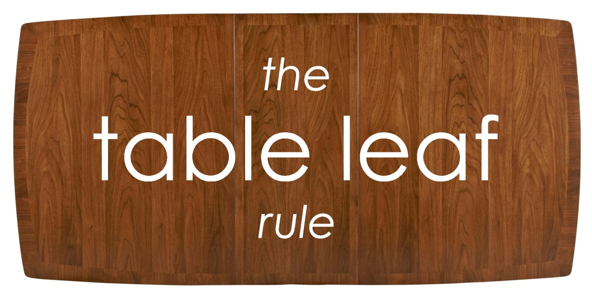 The Table Leaf Rule